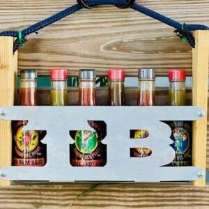 Hillbilly Hot Sauce Caddy Gift Pack 6